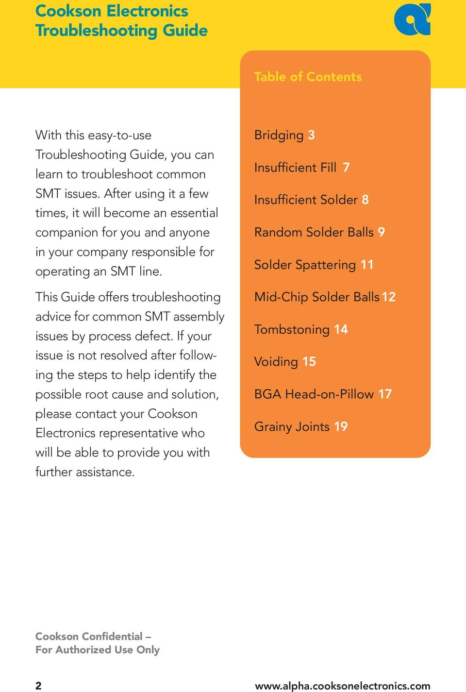 SMT Troubleshooting Guide - PDF