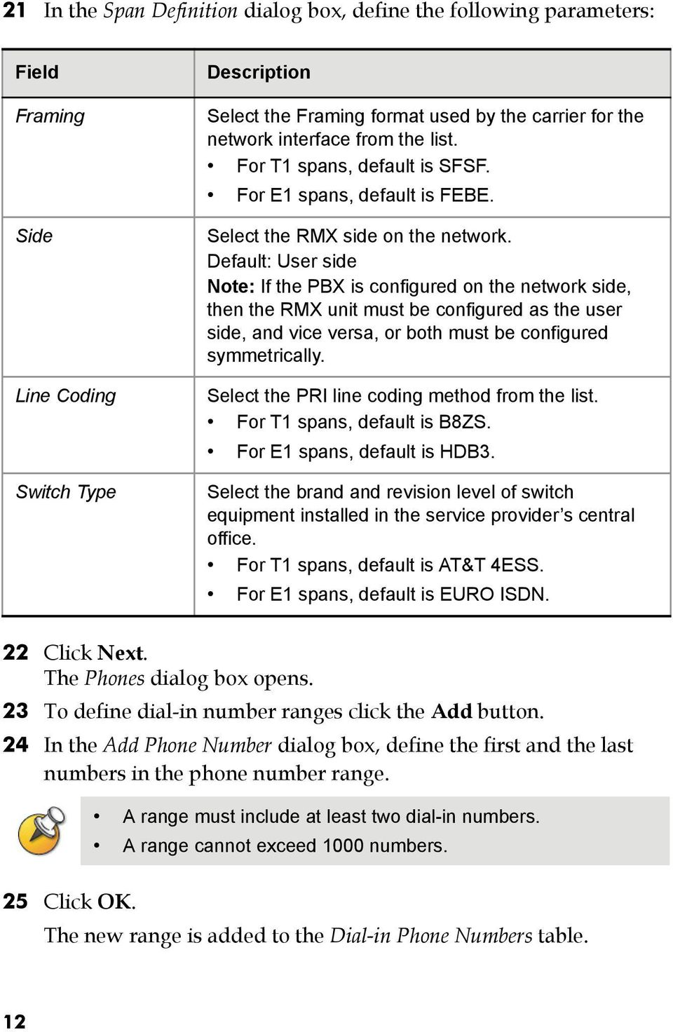 Rmx 2000 Installation Configuration Guide Pdf Eircom Socket Wiring Diagram Default User Side Note If The Pbx Is Configured On Network