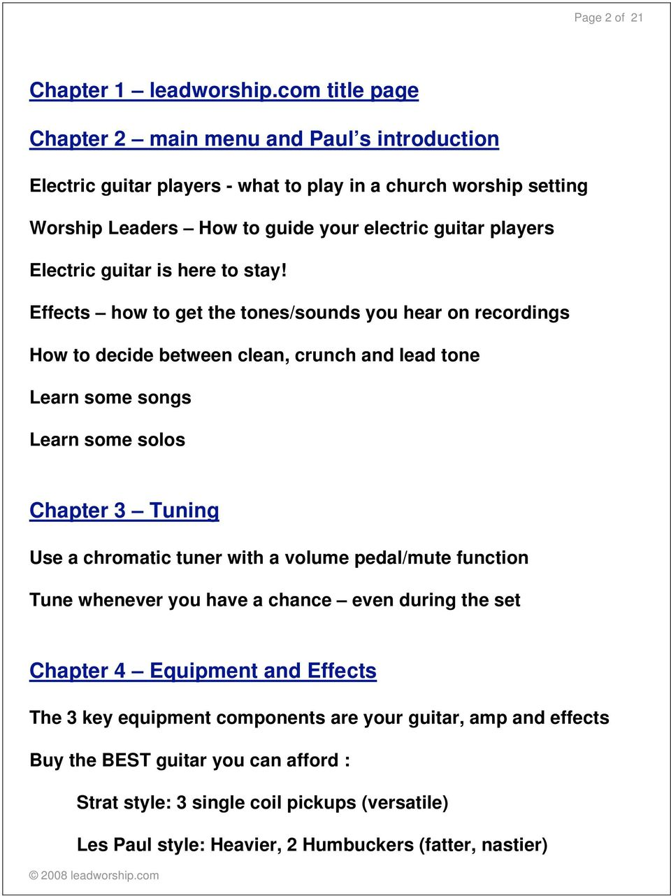 Companion Workbook To The Bonus Section With Glenn Pearce Pdf Tips For Buying An Electric Guitar Guitars 101 Your Bible Is Here Stay