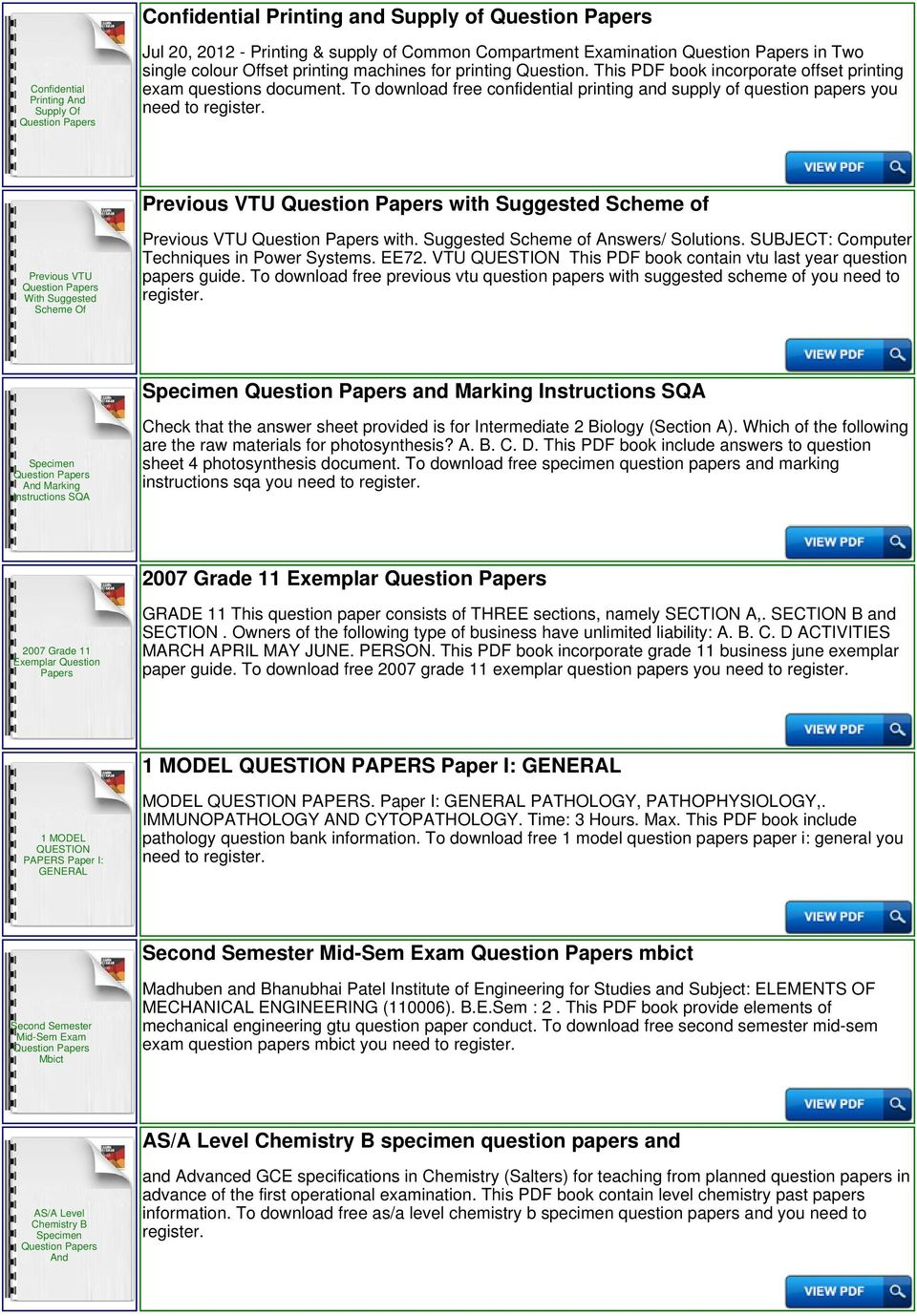 Engineering Science N2 Question Papers And Memos - PDF