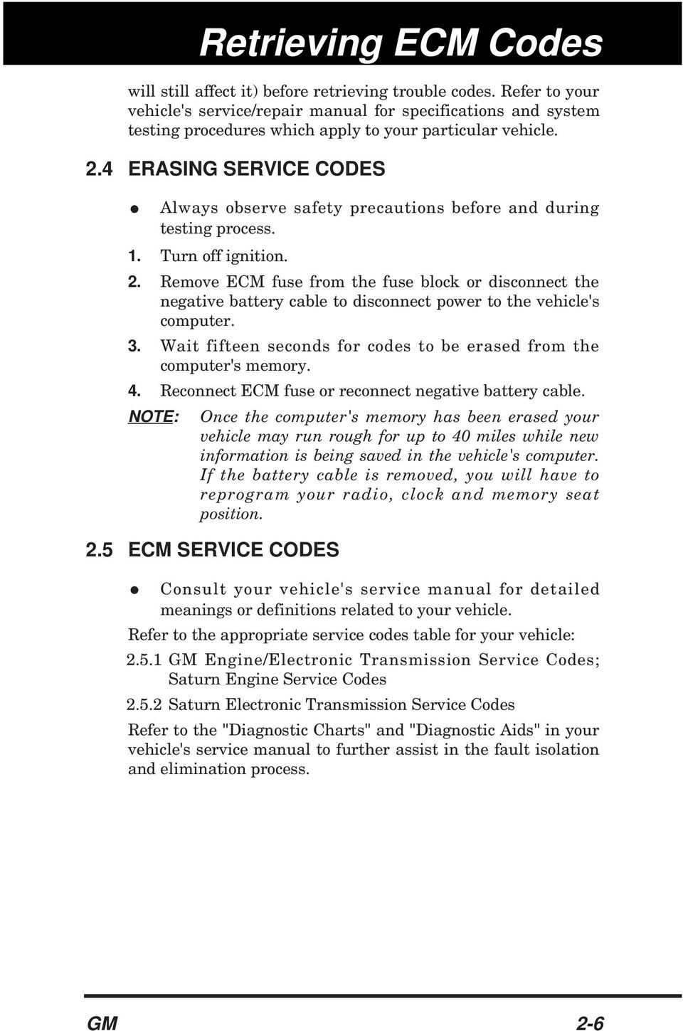 GM CODE READER 1 6 SAVE TIME AND MONEY BY IDENTIFYING ENGINE
