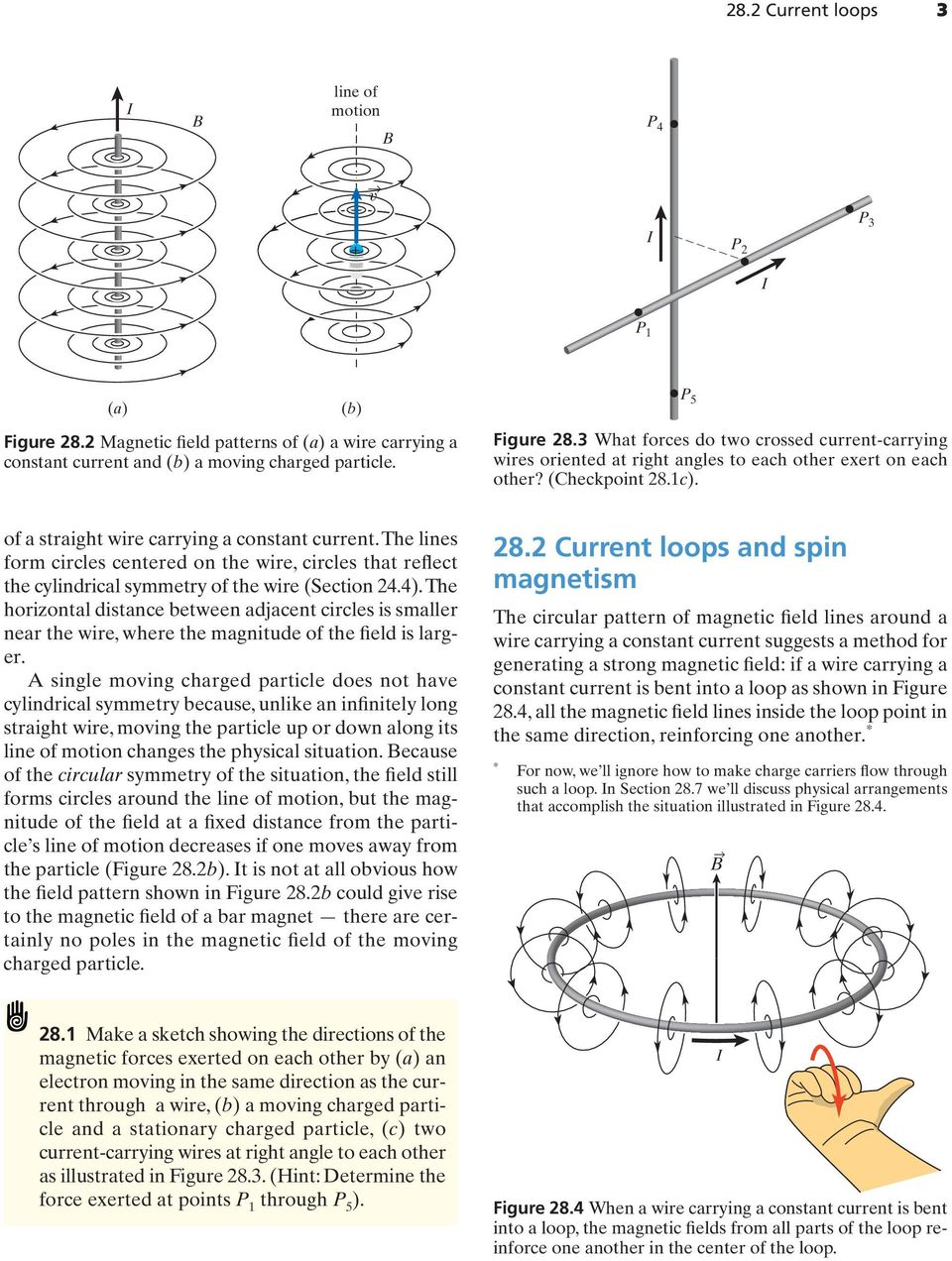 Magnetic fields of charged particles in motion - PDF