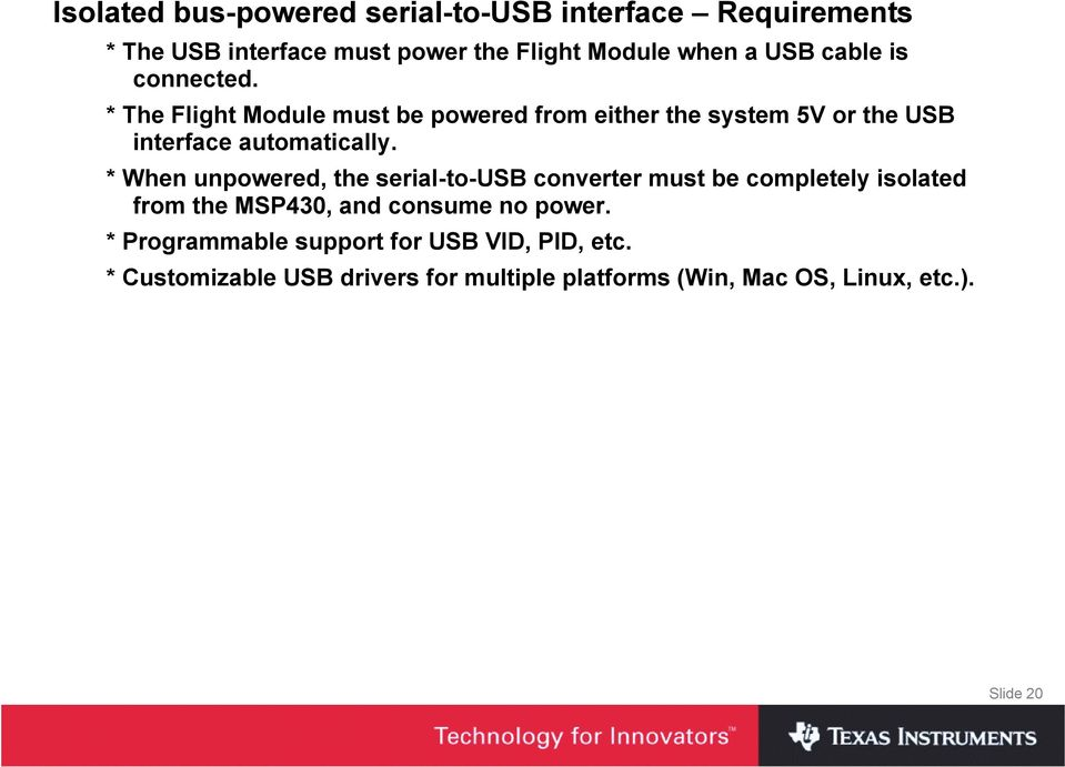 Hardware and Software Design of an MSP430-based Satellite using an
