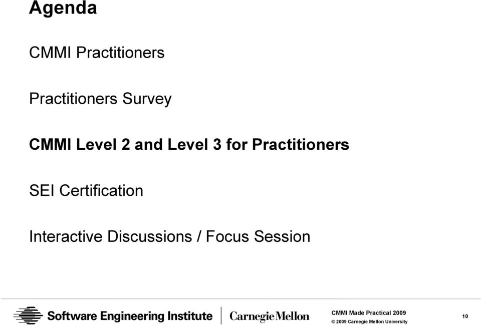 Cmmi Practitioners How Can We Improve The Skill Set Pdf