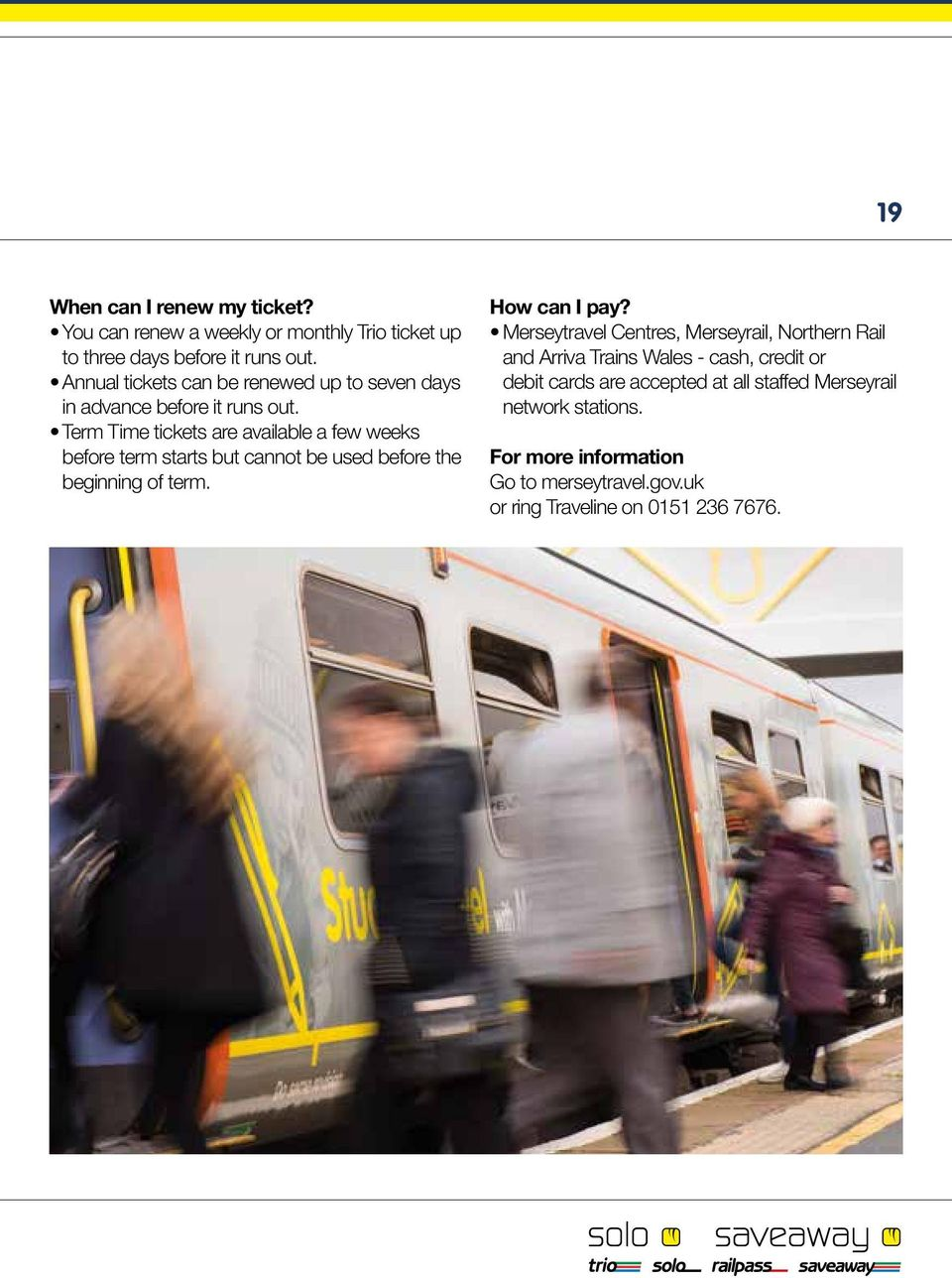 Merseytravel s Tickets For Adults (aged 19+) - PDF