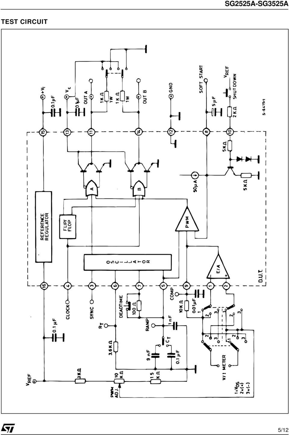 Sg2525a Sg3525a Regulating Pulse Width Modulators Pdf Stepup Dcdc Converter In This Circuit Used Ic Tda2822m Which Is Dual 6 Recommended Operating Conditions Parameter Value Input Voltage V I 8 To 35 Collector Supply C 45