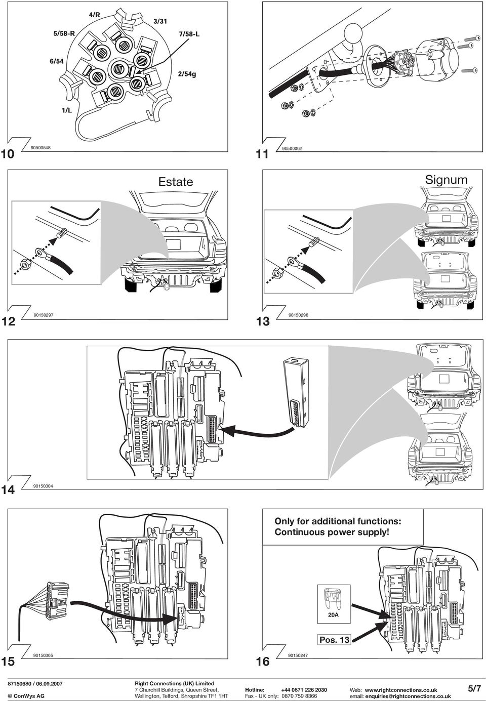 ing instructions. Part No RC IMPORTANT! VAUXHALL VECTRA ... on fog lights diagram, suspension diagram, headlight adjustment diagram,