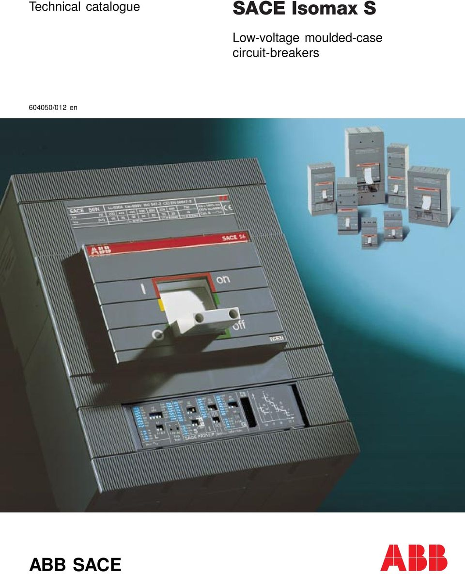 Technical Catalogue Low Voltage Moulded Case Circuit Breakers 012 Abb Motor Starter Wiring Diagram Transcription