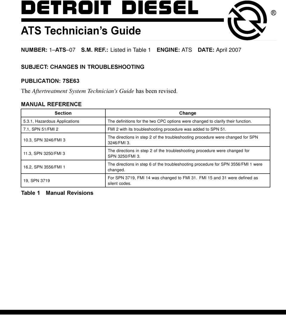 The Aftertreatment System Technician's Guide has been