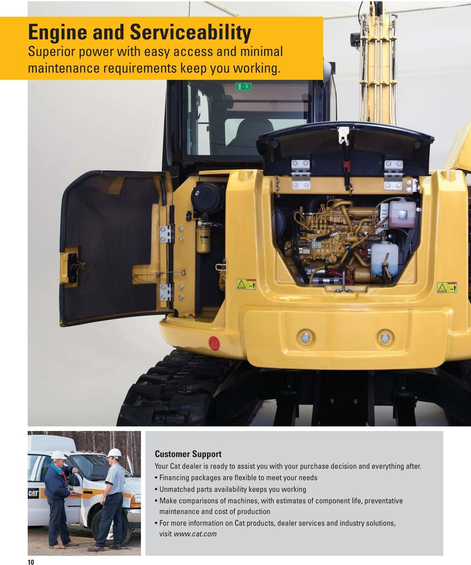 308E CR SB  Mini Hydraulic Excavator with Swing Boom - PDF