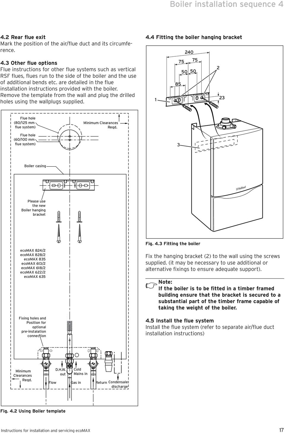Instructions for installation and servicing ecomax - PDF