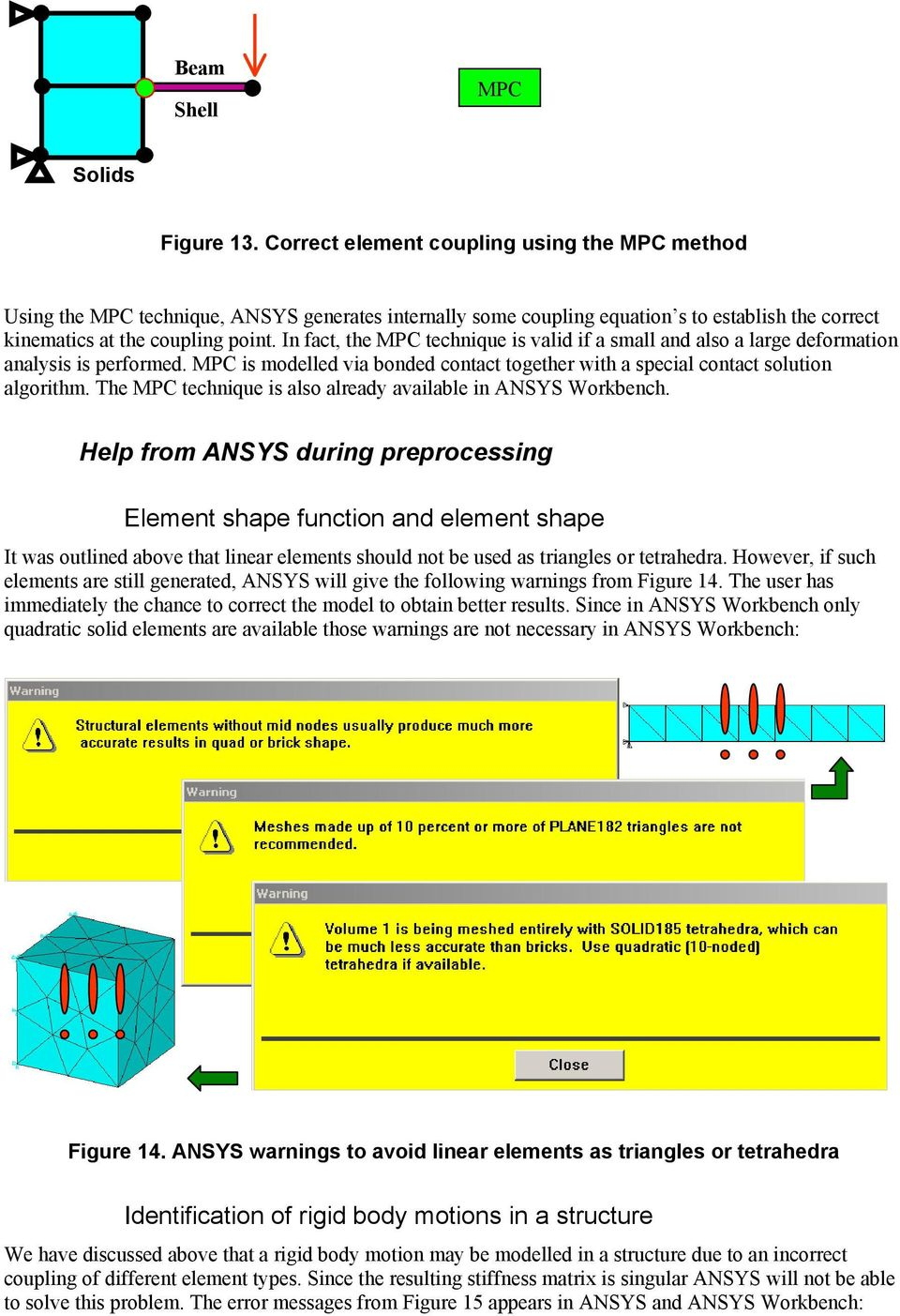Reliable FE-Modeling with ANSYS - PDF