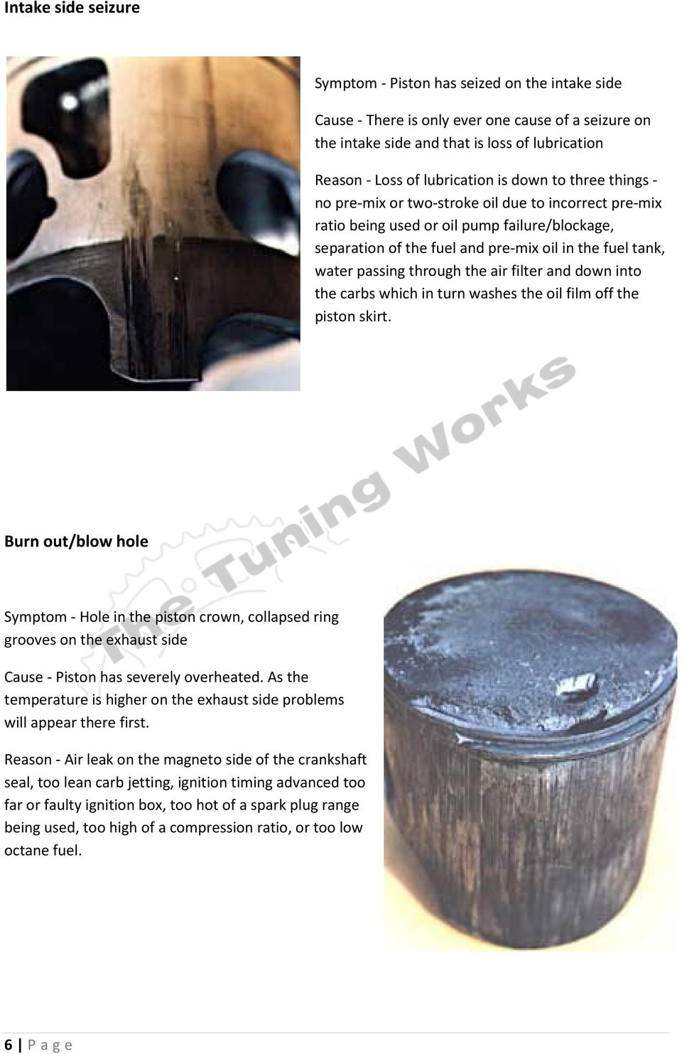 Piston Diagnosis A rough Guide - PDF