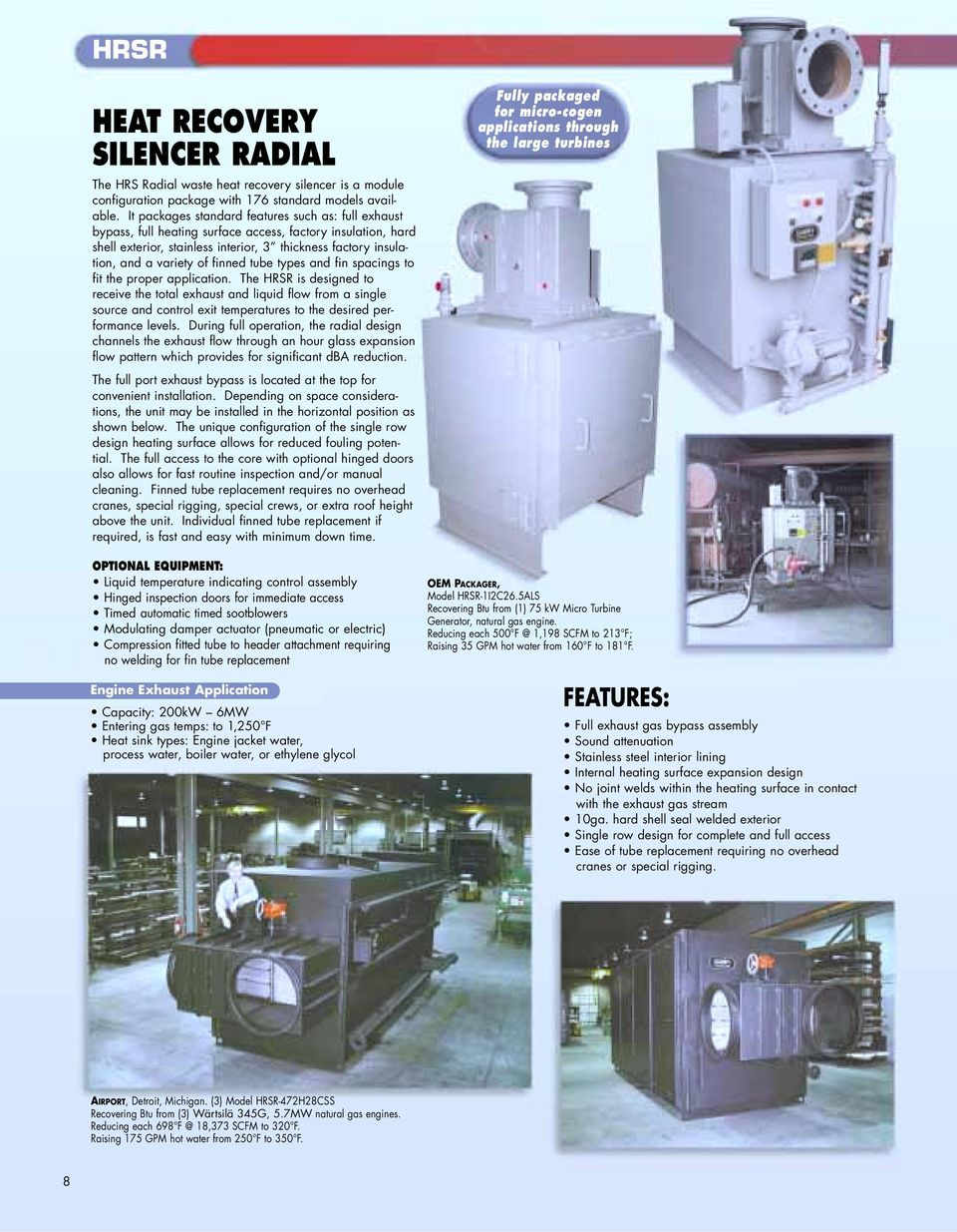 Exhaust Steam Generator Series ESG1 - PDF