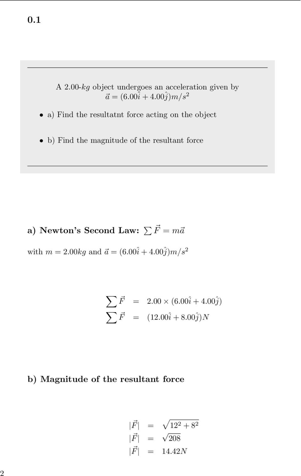 physics 111 homework solution #11
