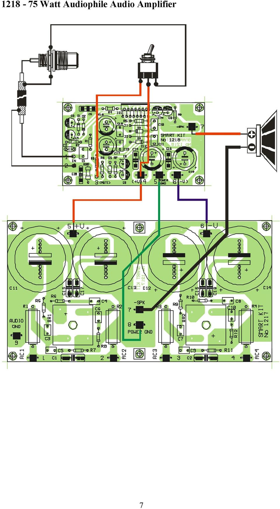 Watt Audiophile Audio Amplifier Pdf Tda2040 Car Stereo Circuit Diagram 7