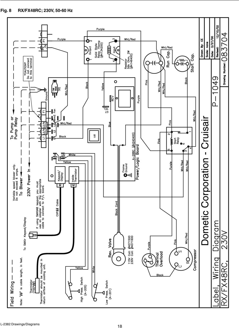 SMX II Control Systems (DX) - PDF Cruisair Pport Wiring Diagram on