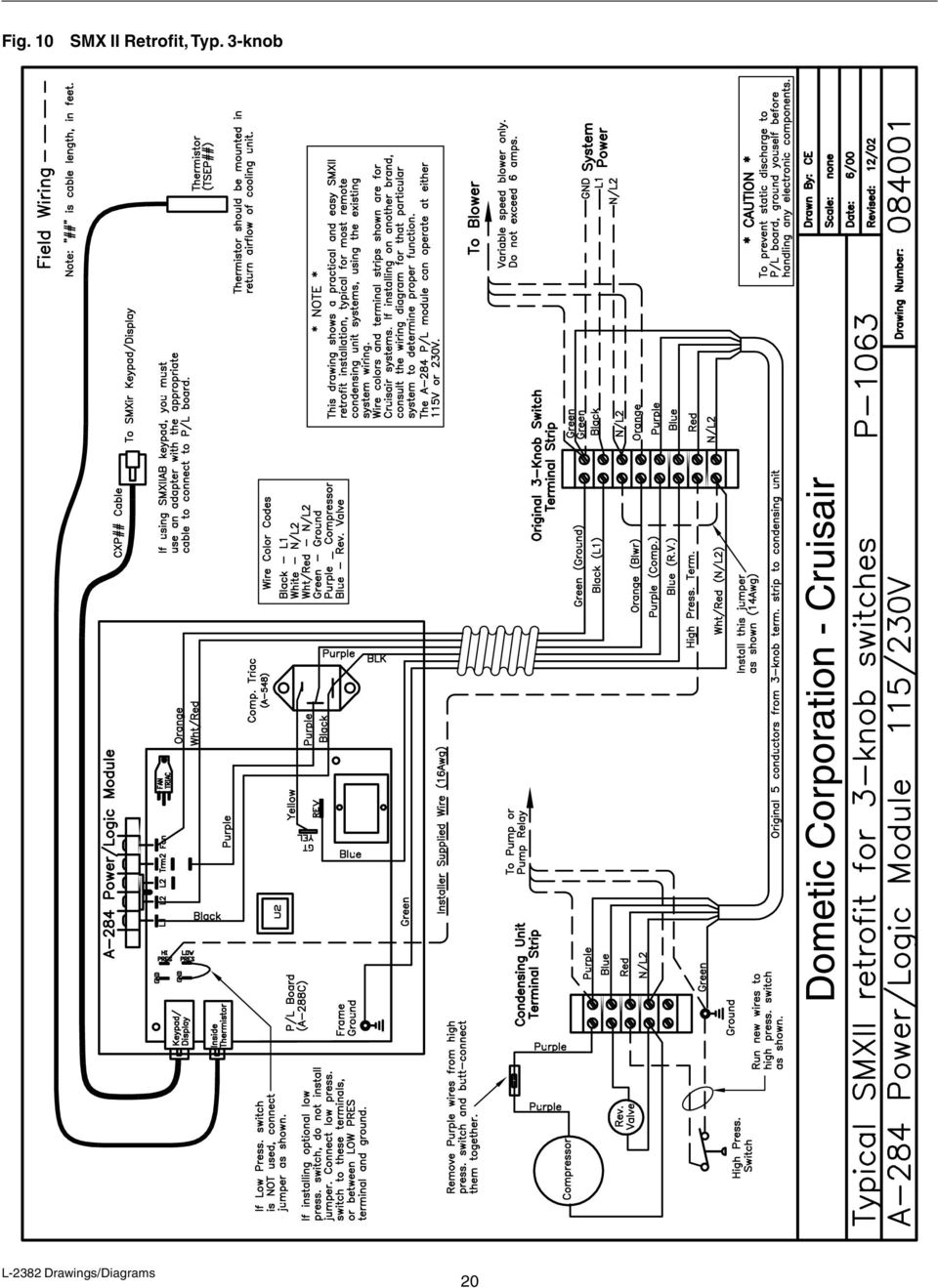 cruisair parts diagram