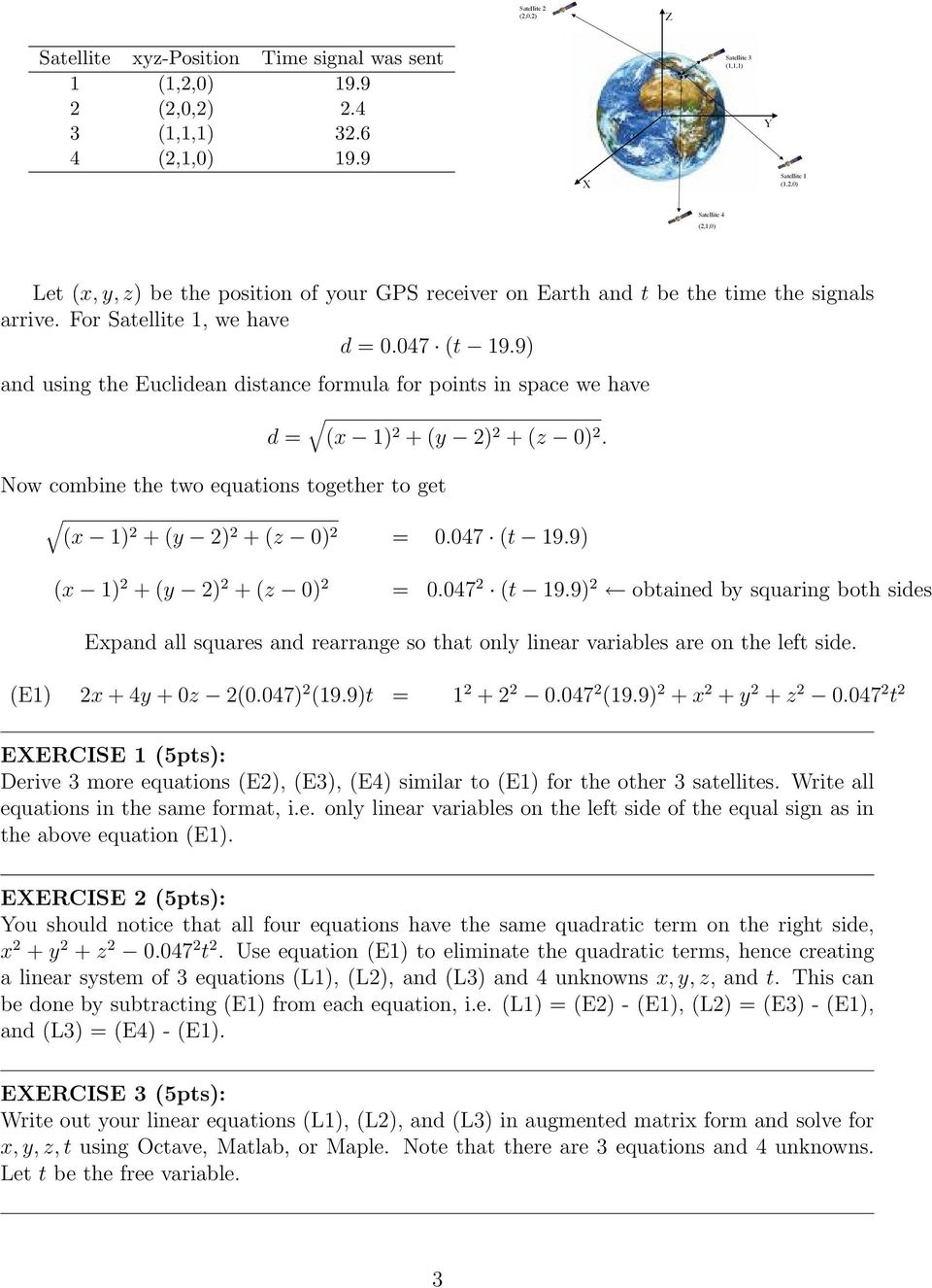 how to solve for x in a matrix equation