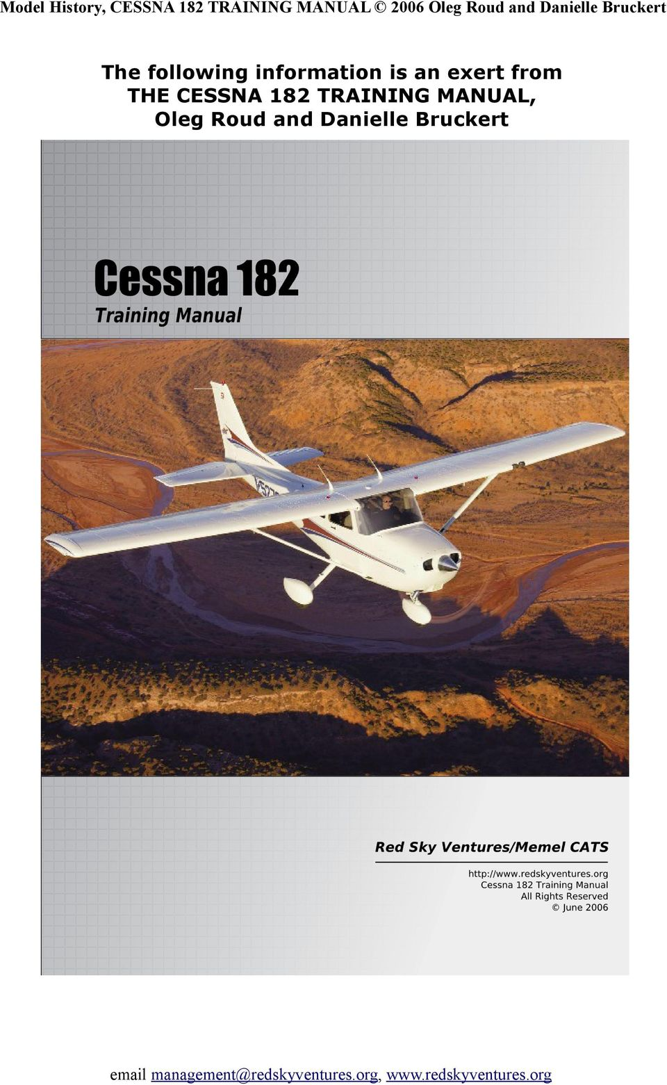 CESSNA 182 TRAINING