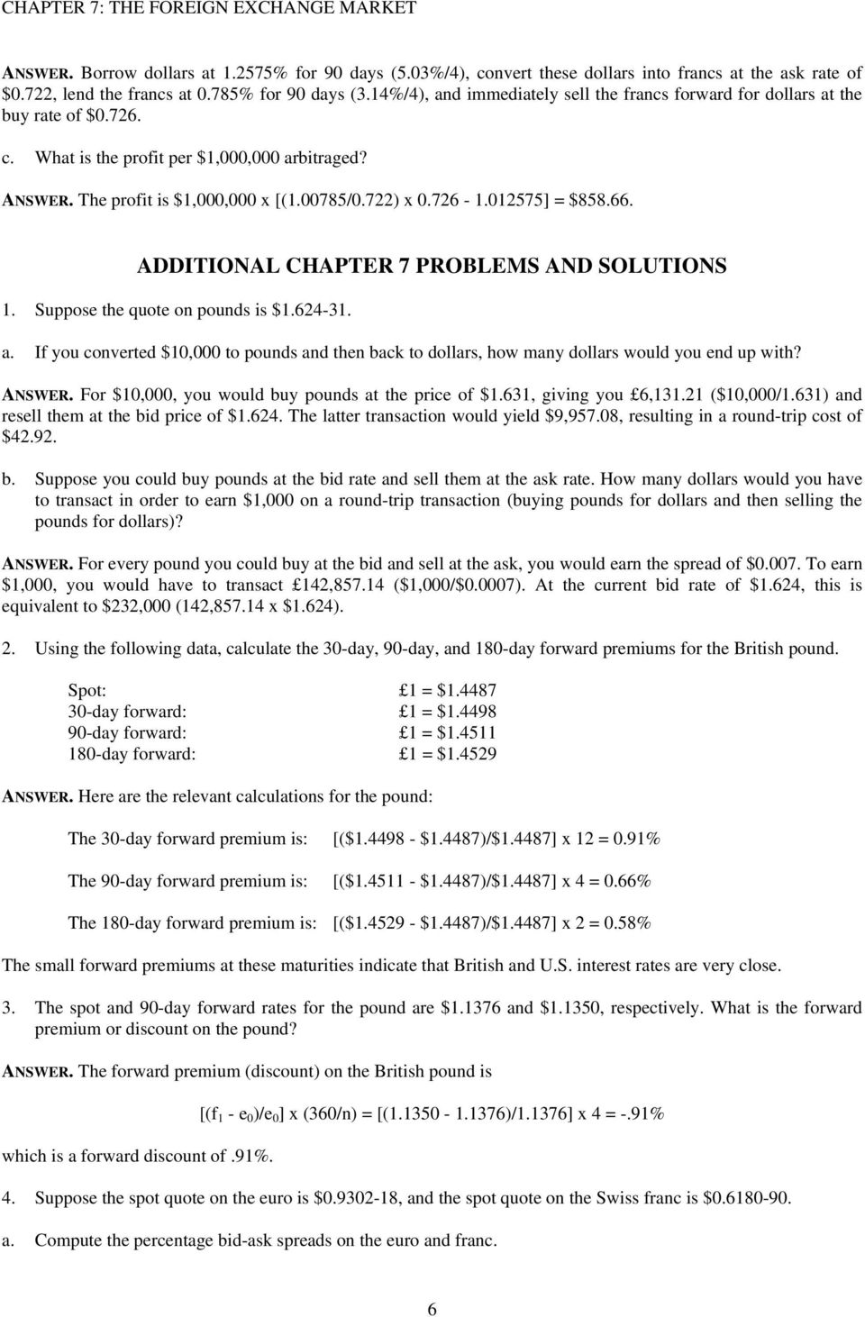 CHAPTER 7 SUGGESTED ANSWERS TO CHAPTER 7 QUESTIONS - PDF Free Download