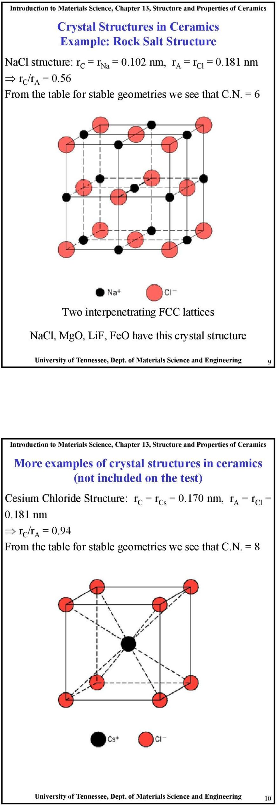 Introduction To Materials Science Chapter 13 Structure And