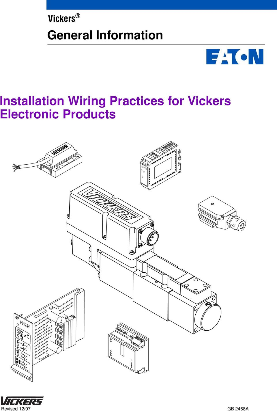 General Information Installation Wiring Practices For Vickers Transformer  LVDT Vickers Lvdt Wiring Plug Diagram