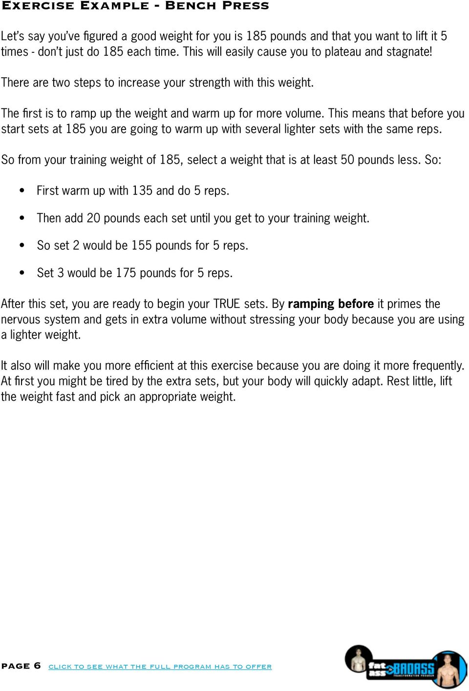 The Ultimate Guide for Fat Loss Success - PDF