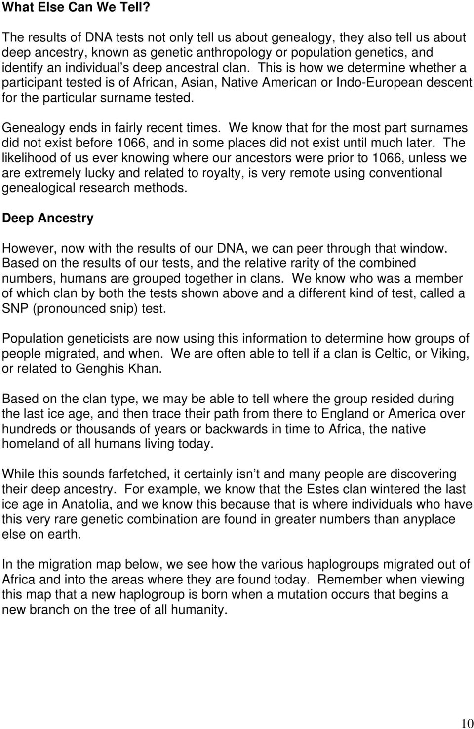 DNA Testing and the Melungeons - PDF