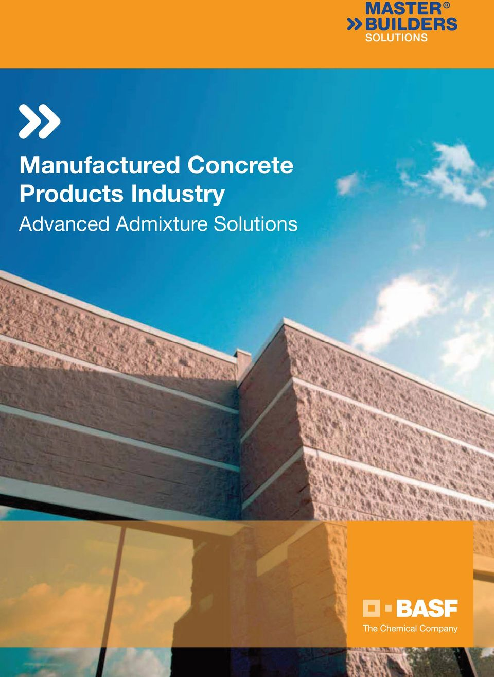 Manufactured Concrete Products Industry  Advanced Admixture