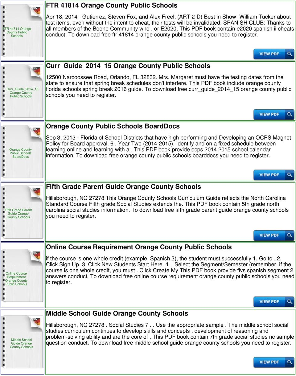To download free ftr 41814 orange county public Curr_Guide_2014_15  Curr_Guide_2014_15 12500 Narcoossee Road, Orlando,