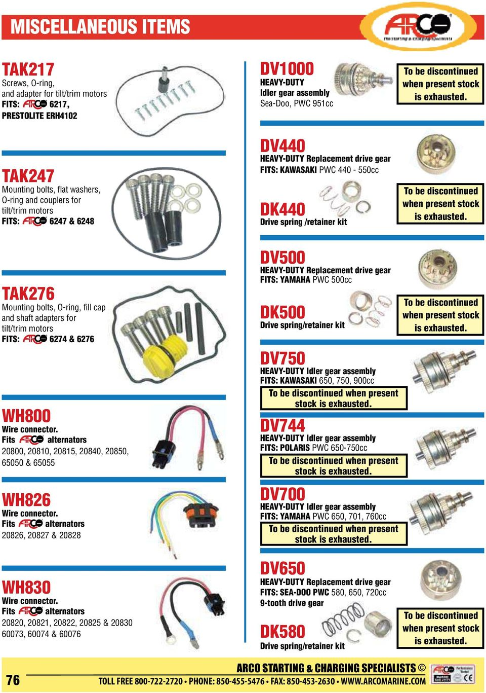 Replacement Solenoids Pdf Relay Wiring Diagram 90 380 Heavy Duty Tak247 Mounting Bolts Flat Washers O Ring And Couplers For Tilt Trim