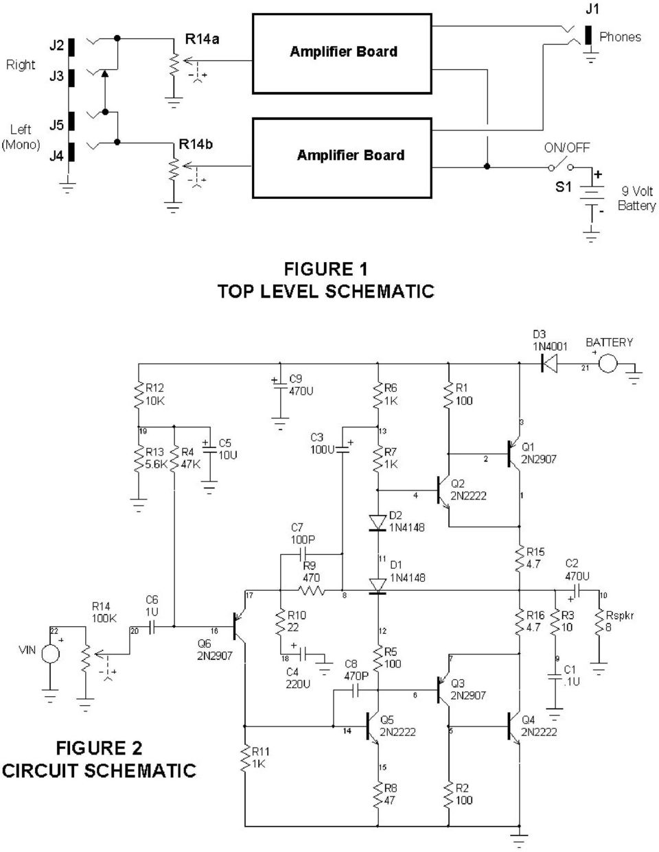 Build It A Portable Headphone Amplifier By Mark Amundson Pdf Frequency Modulationfm Amplifiercircuit Circuit Diagram 5