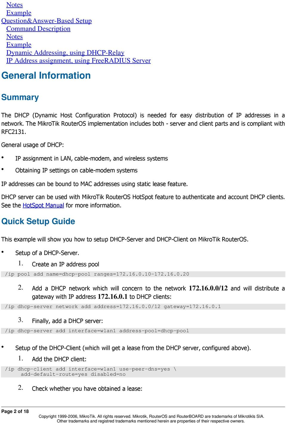 DHCP Client and Server - PDF