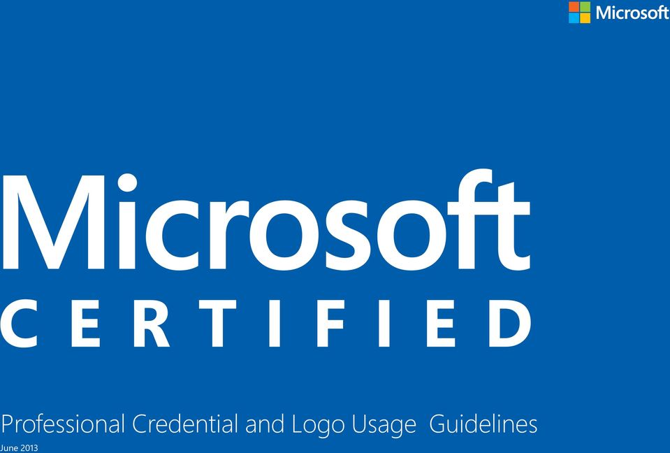 Professional Credential And Logo Usage Guidelines June Pdf