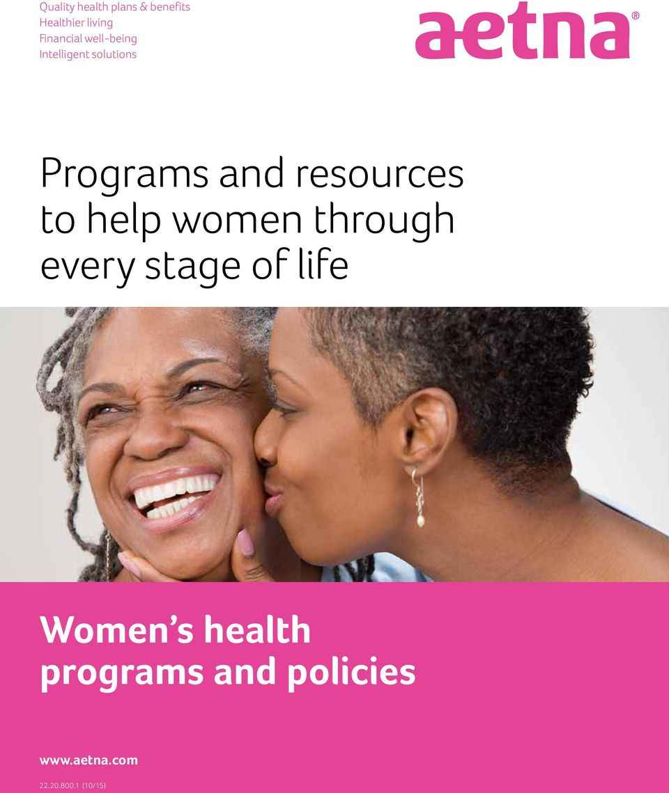 resources to help women through every stage of life