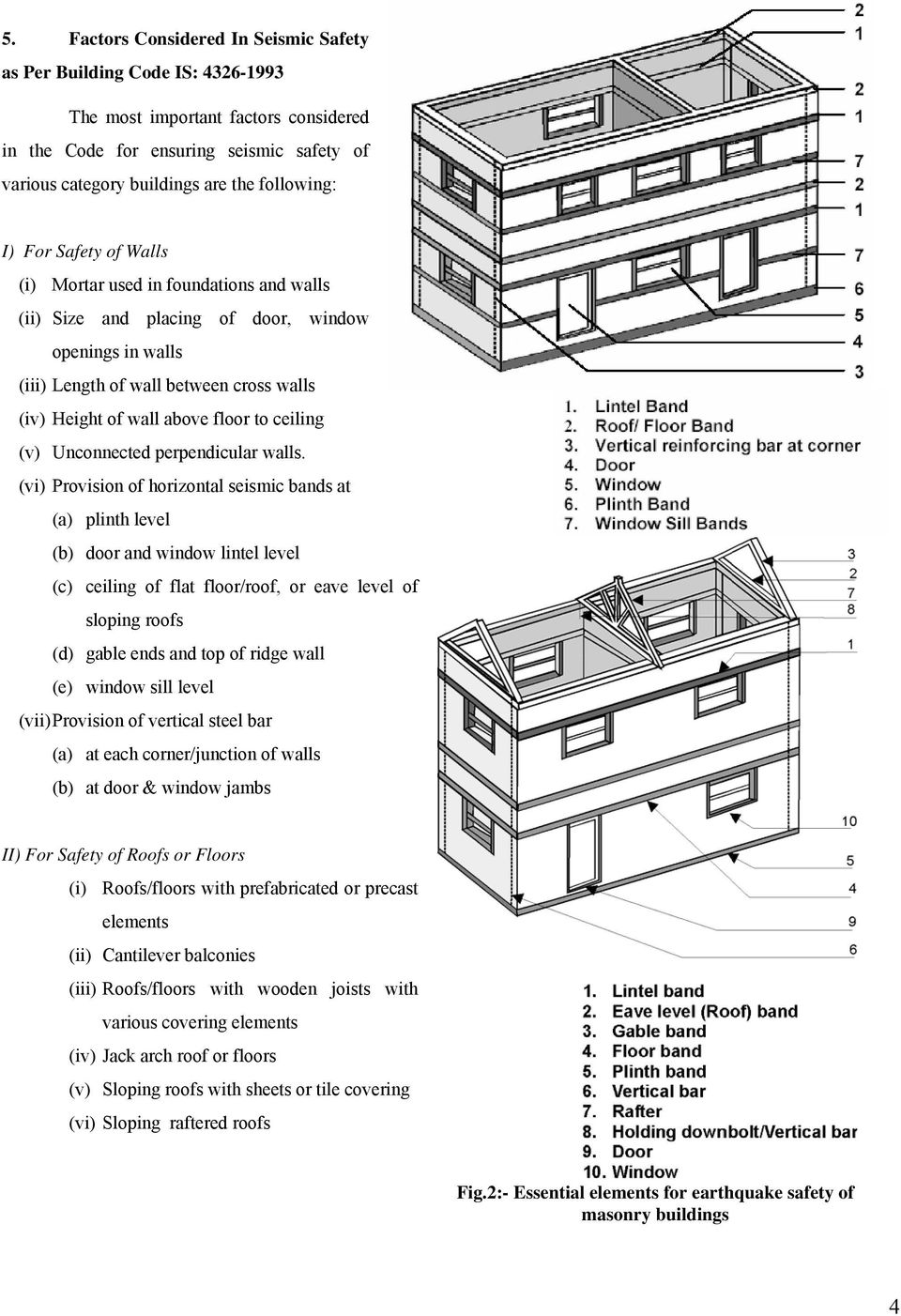 SEISMIC ASSESSMENT OF BRICK MASONRY BUILDING Situated