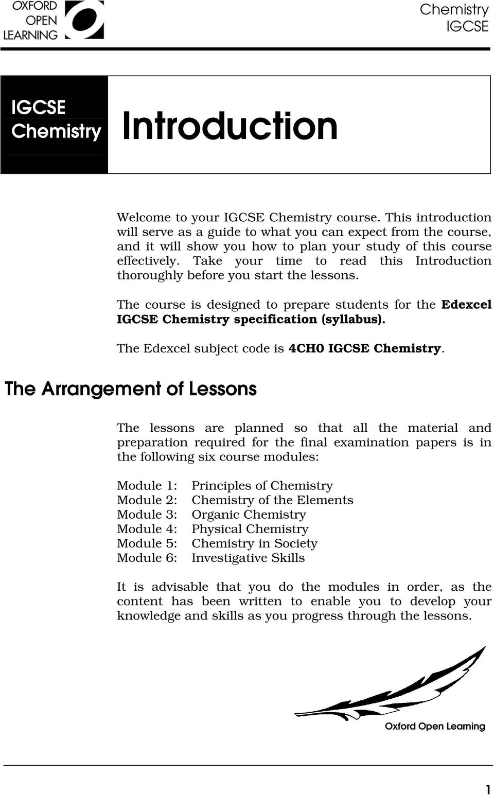 OXFORD OPEN  Introduction IGCSE  Chemistry  Introduction - PDF