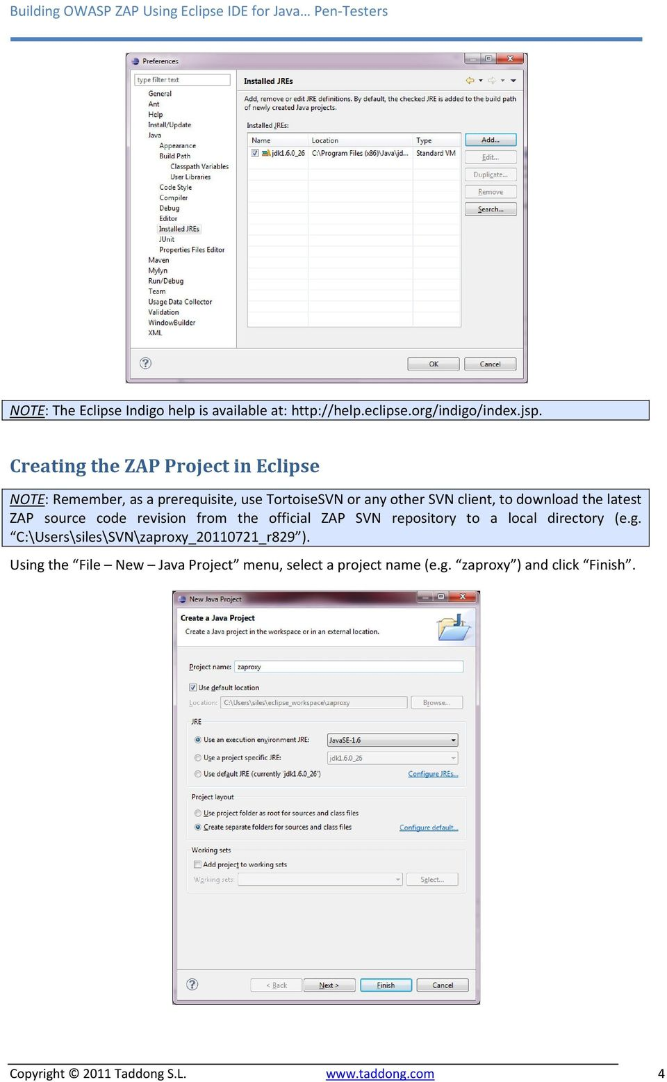 Building OWASP ZAP Using Eclipse IDE - PDF