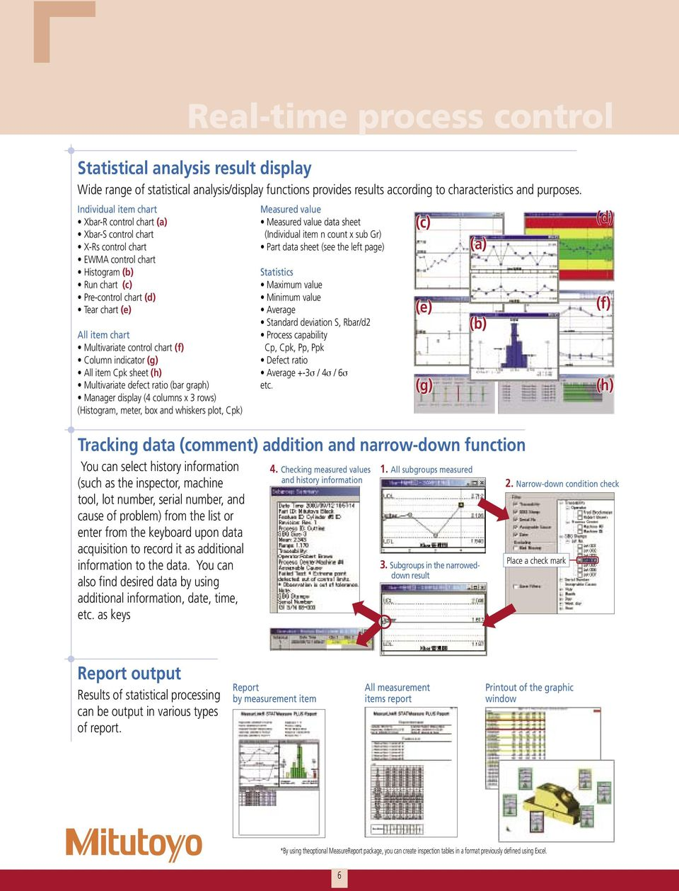 Small Tool Instruments and Data Management  Measurement Data