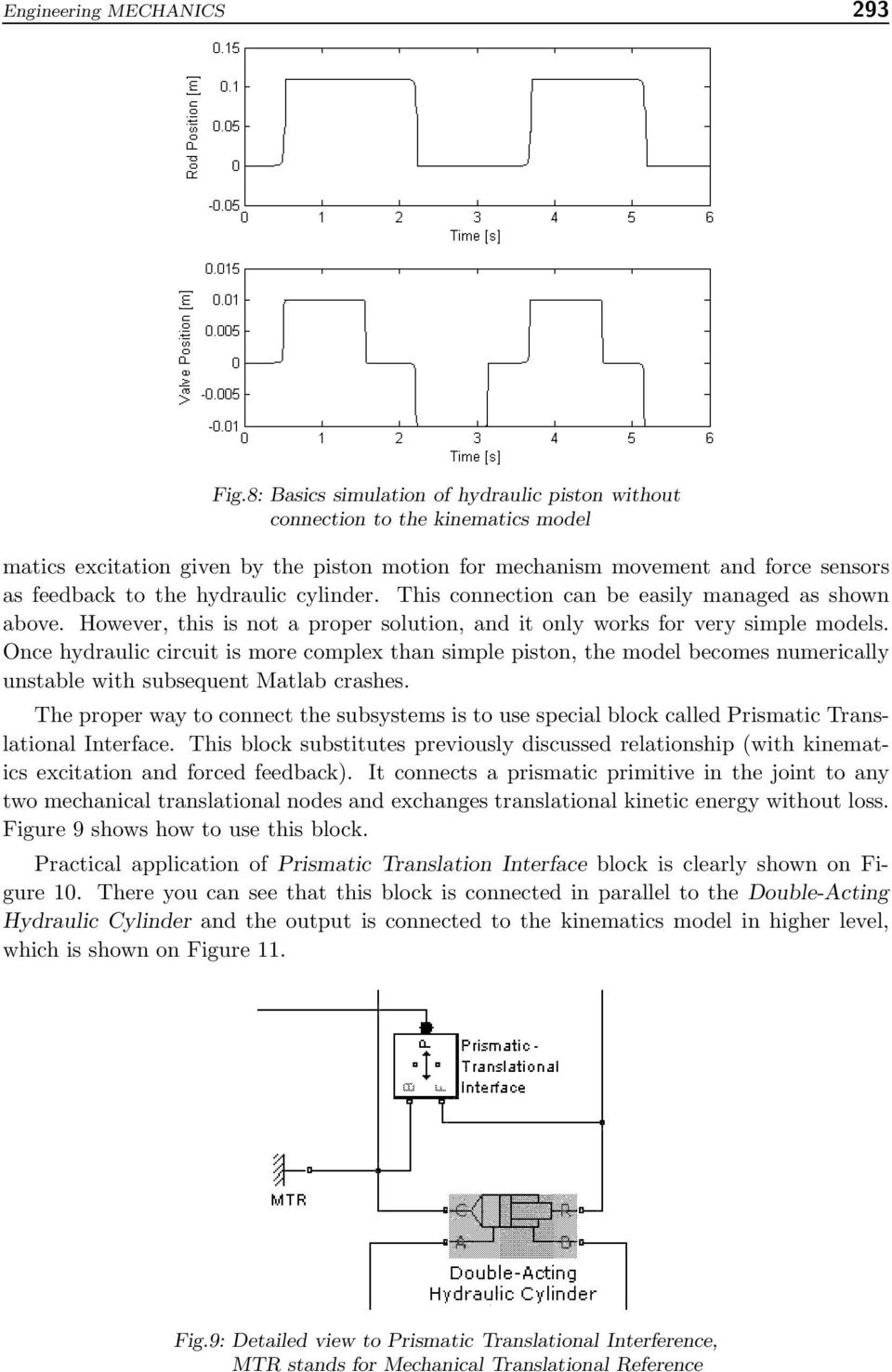 Hydraulic Arm Modeling Via Matlab Simhydraulics Pdf Simple Diagram Circuit Basic Cylinder This Connection Can Be Easily Managed As Shown Above However Is