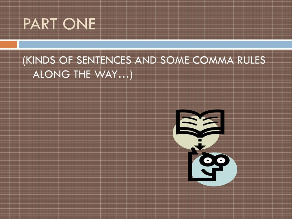 SOME COMMA RULES