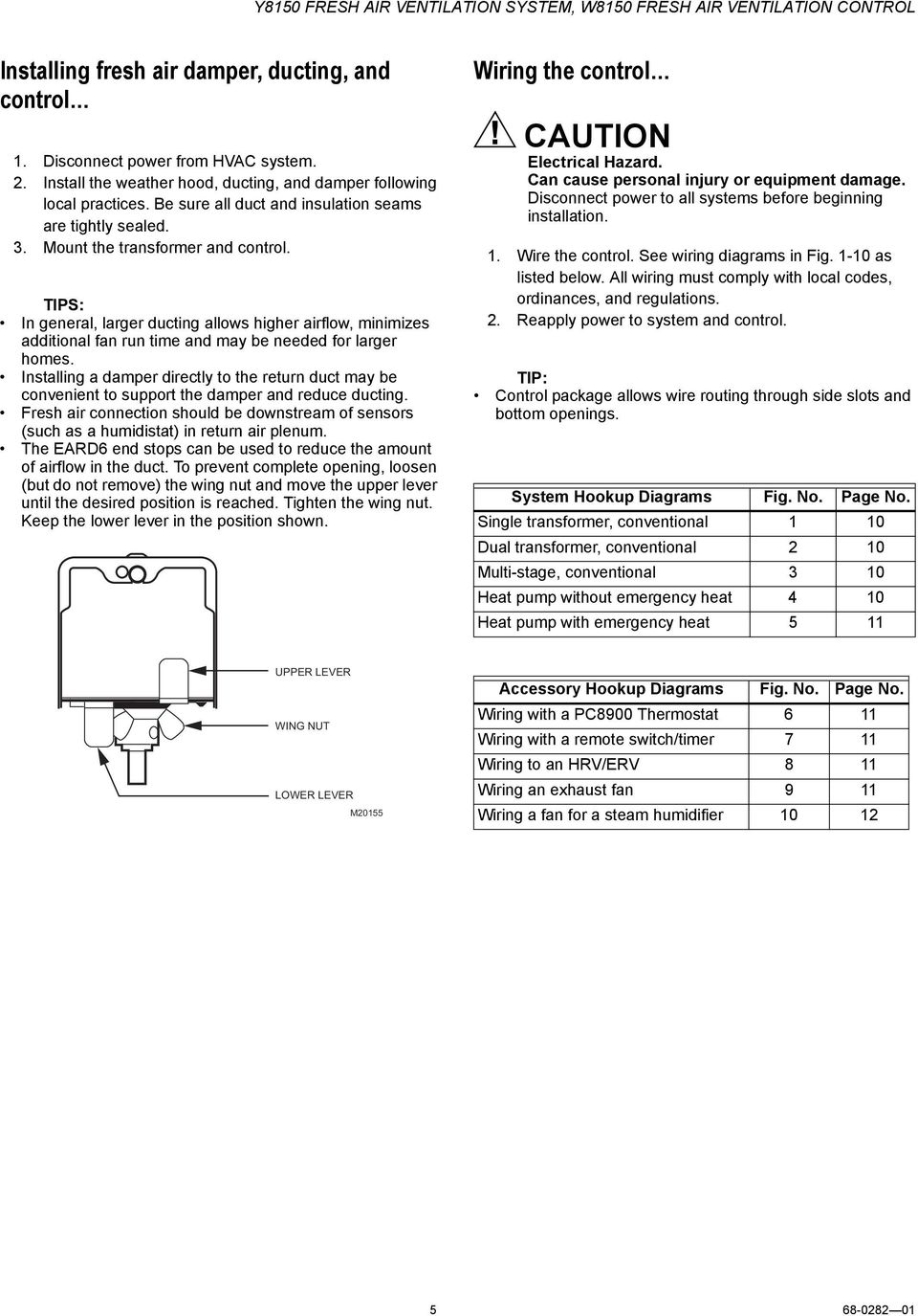 Prestige Honeywell Steam Humidifier Wiring Diagram Library Delco 1103076 Tips In General Larger Ducting Allows Higher Airflow Minimizes Additional Fan Run Time