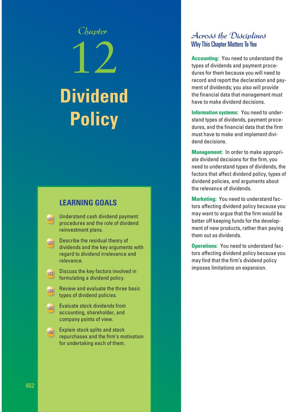 types of dividend policy theory