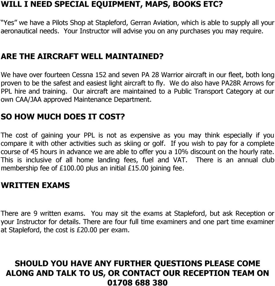 AIRCRAFT HIRE CHARGES - PDF