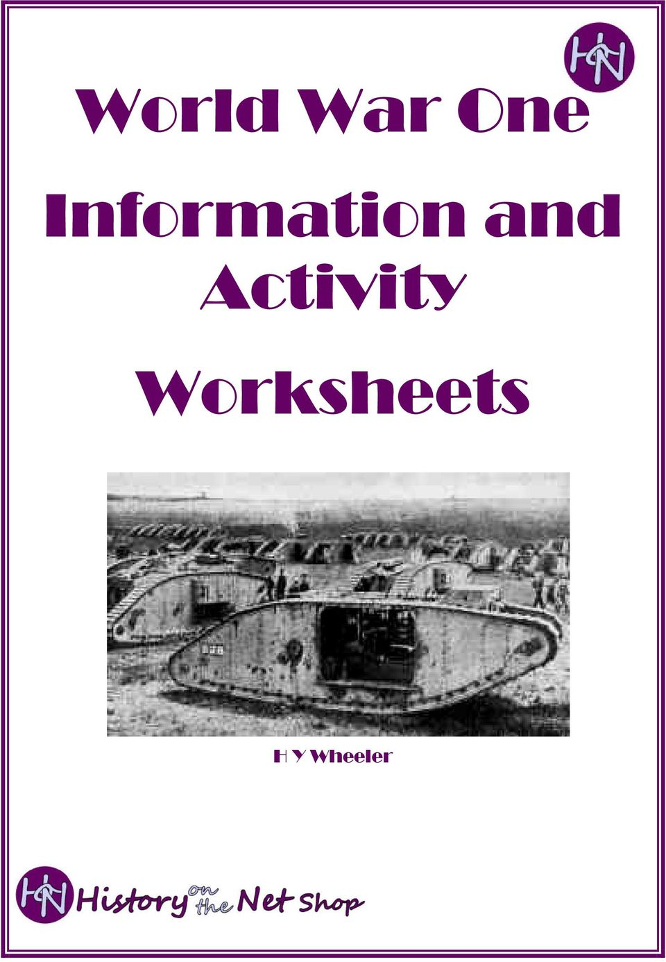 World War One Information And Activity Worksheets Pdf Ww1 Trenches Diagram On The Web Timeline British Trench 2 This Booklet Has Been Printed Sold By History Net To Be Used As A Teaching Resource Purchaser Is Entitled Photocopy These