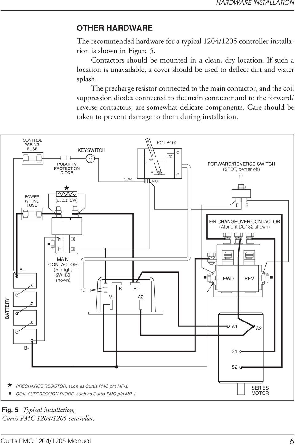 manual 1204 5 motor controllers curtis pmc pdf free download sevcon controller wiring diagram curtis instruments wiring diagrams #13