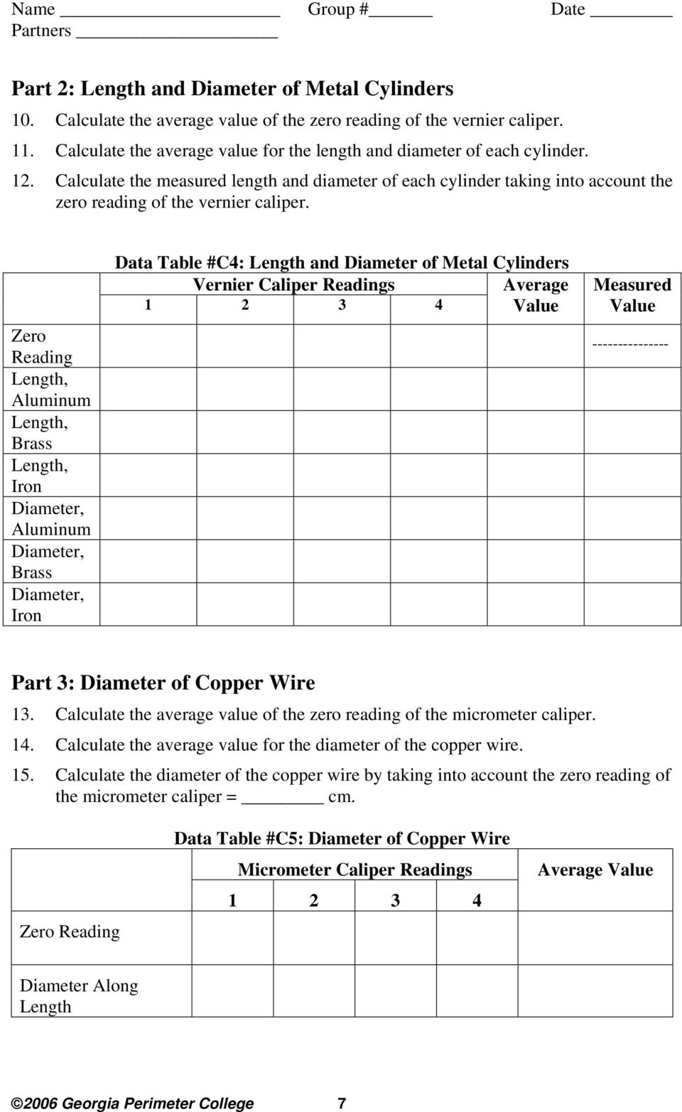Measurement of Length, Mass, Volume and Density - PDF