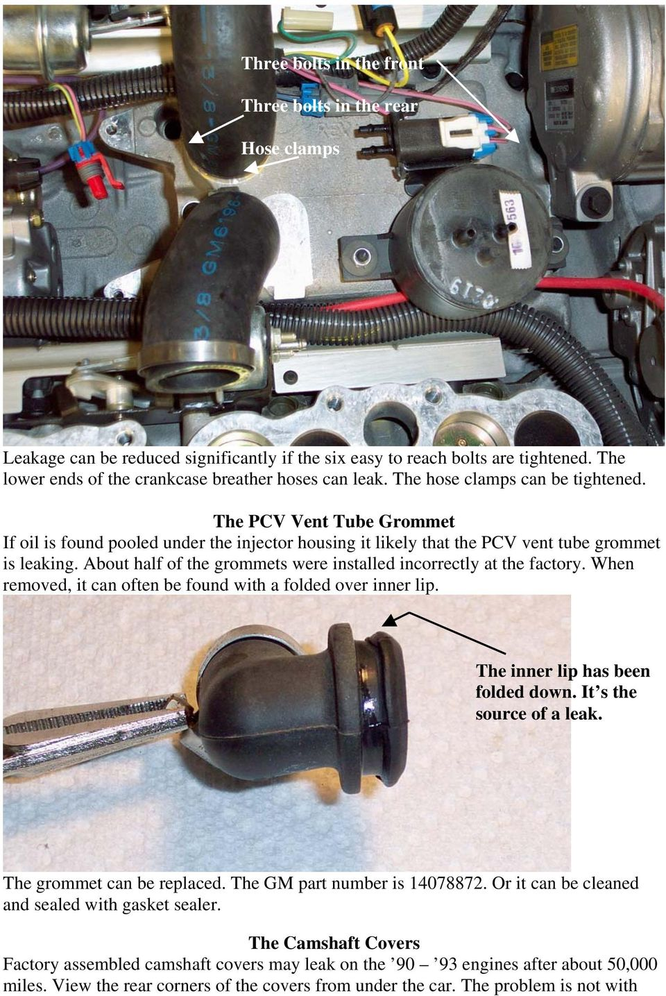 finding and fixing oil leaks on the lt5 engine marc haibeck pdf rh docplayer net