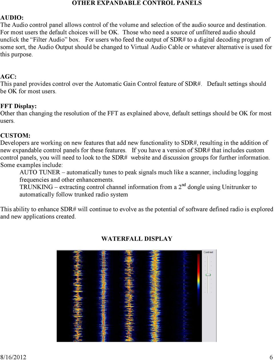 A USER S GUIDE TO SDR# (SDRSHARP) - PDF